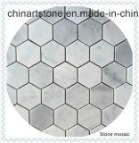 Mosaico di marmo di pietra bianco della natura per il materiale da costruzione della Camera