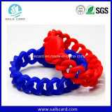 Silicon impermeable RFID Bracelets para Swimming Pool