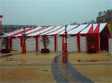 大きい屋外の白く大きい結婚式の玄関ひさし党テント