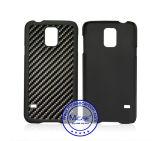 Fatto nella cassa di plastica del telefono del PC della fibra del carbonio della Cina per la galassia S5 di Samsung