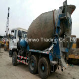 8m3-Agitating-Lorry Used Isuzu Cxz81k Concrete Mixer Truck를에 New Gutters 다시 칠하십시오 Original Color