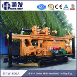 Hfw - Equipamento de perfuração de furos de água 800A, máquina de perfuração multifuncional