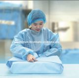 130cm*130cm SMS niet Geweven voor Medische Verpakking, Verpakkende Materialen, de Dagelijkse Voor consumptie geschikte Producten van het Ziekenhuis