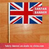Esportes livres do projeto do costume quente do Sell e bandeira nacional