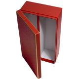 Тиснение Горячее тиснение Картон красное вино Упаковка Подарочная коробка