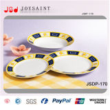 Conjunto de cena del diseño de la decoración del gres de la venta al por mayor del fabricante de China nuevo