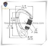 Metallo Carabiner (DS29-2) degli accessori del cavo di sicurezza