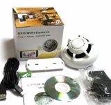 Mini cámara sin hilos del UFO WiFi del detector de humos