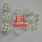Isolante di ceramica dell'allumina Al2O3 per la termocoppia (2 alesati, 4 alesati, 5 alesati)