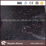 Black naturale/Grey/Red Polished Granite per Wall Flooring Tile