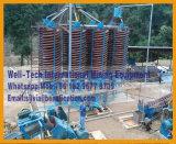 Équipement minier de extraction de séparateur de descendeurs spiralés