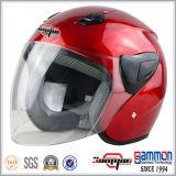 点の開いた表面オートバイのヘルメット(OP231)