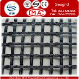 Fibra de vidrio de alta resistencia Geogrid para el refuerzo del suelo