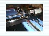 Hochgeschwindigkeitslaser-Ausschnitt-Maschine für Gewebe-Ausschnitt/Schuhe