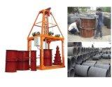 Konkretes Rohr, das Maschine, vertikalen Typen Rohr herstellt Maschine herstellt