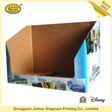 Caisse d'emballage d'étalage de Cardboar de Livre Blanc de 2016 coutumes