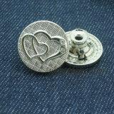 Кнопка металла Shake способа для вспомогательного оборудования одежды
