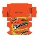 Torche rechargeable lumineuse de bonne qualité de la main 3W de long terme