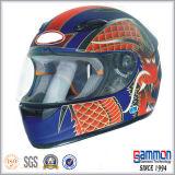 PUNKT Dargon Entwurfs-volles Gesichts-Motorrad-Sturzhelm (FL119)
