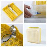 Hhd 48 Goedgekeurd Ce Van uitstekende kwaliteit van de Incubator 12V+220V van het Ei van Eieren Mini Volledig Automatisch Goedkoop