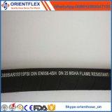 Tubo flessibile idraulico di gomma ad alta pressione di rinforzo flessibile del filo di acciaio
