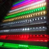 DMX 18*3W imperméabilisent l'éclairage linéaire de DEL de rondelle colorée extérieure de mur