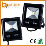 옥외 점화는 주조 알루미늄 투광 조명등 10W 힘을 방수 처리한다 IP67 LED를 가진 투광램프 3 년 보장 LED 정지한다