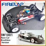 Firelap Electric Power Brushless 1/10 Race Car com Forma Negra