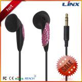 China-Fabrik-Zubehör-preiswertes Kopfhörer-Geschenk-fördernder Kopfhörer mit Diamanten