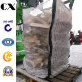 Pp Woven FIBC Bulk Jumbo Big Mesh Bag avec 4 Cross Corner Loops