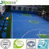 De de plastic Bouw en Installatie van het Hof van het Basketbal