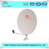 Напольное спутниковое телевидение Receiver тарелки антенны 75cm