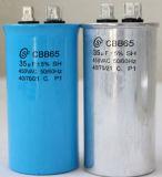 Condensador de arranque del motor de CA y condensador de arranque (Cbb60 605j 450VAC) con alta tensión