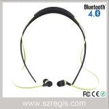 スポーツの無線ヘッドセットのBluetoothの磁石が付いているステレオのヘッドセットのイヤホーンのヘッドホーン