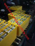 batería profunda del ciclo del GEL 12V75AH de la batería de la comunicación de batería del armario de alimentación de la batería de los proyectos solares Telecom solares terminales de acceso frontal de la telecomunicación