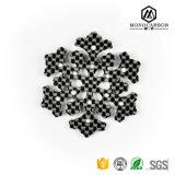 Viele Modell-Form-Zusatzgeräten-realer Kohlenstoff-Faser-Schlüssel-Halter-Anhänger