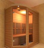 6 Zaal van de Sauna van de Ceder van het Gebruik van de persoon de Houten