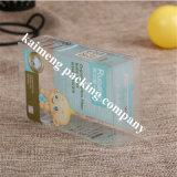 Compra plegable del rectángulo plástico del claro del conjunto del caramelo del animal doméstico de la categoría alimenticia