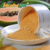 純粋で自然なまたは緑食糧かよい好みのパパイヤのフルーツジュースの粉