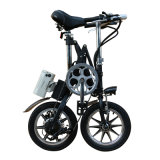E-Bike стали углерода 14inch складывая с 7 скоростями (YZTDBS-6-14)