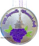 Medalla del recuerdo para las mujeres de Naperville medias con color del brillo