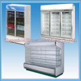 Congelador comercial de la visualización de la bebida con alta calidad