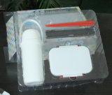 OEM/ODM 안 물집 쟁반 상자 포장을%s 가진 플라스틱 PVC/PET/PP 수송용 포장 상자