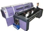 Impresora de correa para los pantalones vaqueros materiales