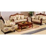 Sofá clásico de la tela para los muebles de la sala de estar (929I)
