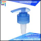 28/410의 파란 액체 샴푸 비누 나사 로션 펌프
