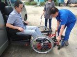 Asiento con elevadores para sillas de ruedas para personas con discapacidad con 120 kg de carga