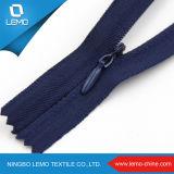 No. 3 Zipper invisível personalizado da extremidade aberta do nylon do comprimento da fita