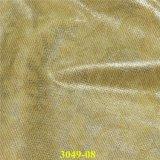 Cuero artificial Pearlized de la PU de la manera para los zapatos del `S de la señora