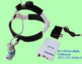 Lâmpada principal cirúrgica otorrinolaringológica do diodo emissor de luz do Portable recarregável